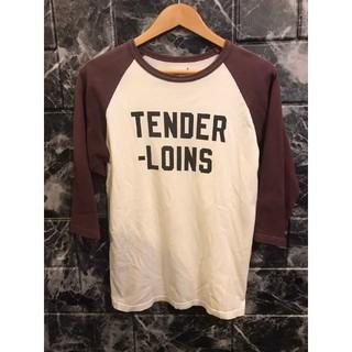 テンダーロイン(TENDERLOIN)の☆ テンダーロイン TENDER LOIN ラグラン 七分袖 日本製 ロゴ(Tシャツ/カットソー(七分/長袖))