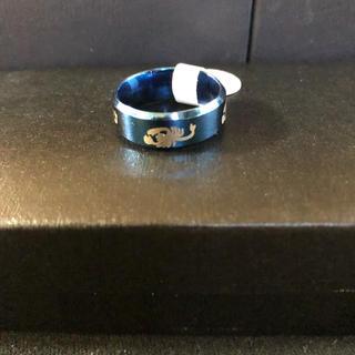 送料込み‼︎メンズ指輪鮮やかブルー19号(リング(指輪))