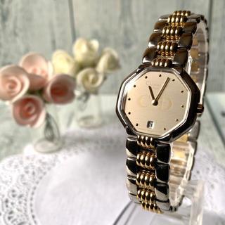 クリスチャンディオール(Christian Dior)の【電池交換済み】Christian Dior ディオール 腕時計 オクタゴン(腕時計)