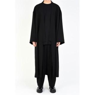 ラッドミュージシャン(LAD MUSICIAN)の19aw 着物コート新品 タグ付き。(ステンカラーコート)