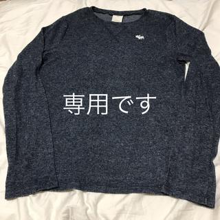 アバクロンビーアンドフィッチ(Abercrombie&Fitch)のアバクロンビー  長袖 カットソー 長袖Tシャツ キッズ L  160cm(Tシャツ/カットソー)