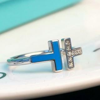 ティファニー(Tiffany & Co.)のTiffany リング 指輪 レディース シルバー 新品 US 6#ファッション(リング(指輪))