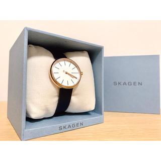 SKAGEN - SKAGEN スカーゲン レディース 腕時計 ネイビー×ピンクゴールド