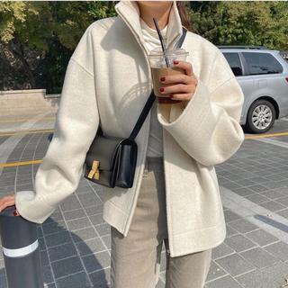 イエナ(IENA)の【閉店sale】import カシミヤウールジャケット(ピーコート)