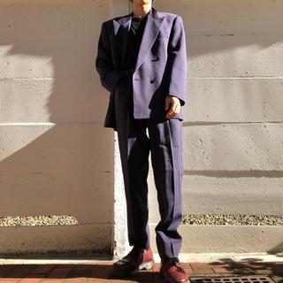 ジョンローレンスサリバン(JOHN LAWRENCE SULLIVAN)の激レア!!! 80s VINTAGE 紫 パープル ダブル セットアップ (セットアップ)
