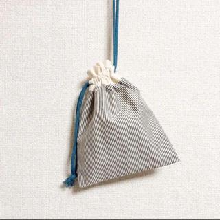 *ハンドメイド* 巾着袋 コップ袋 ¨̮♡︎(外出用品)