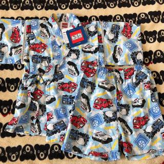 タカラトミー(Takara Tomy)の新品♡トミカ 甚平 90 浴衣 パジャマ(甚平/浴衣)
