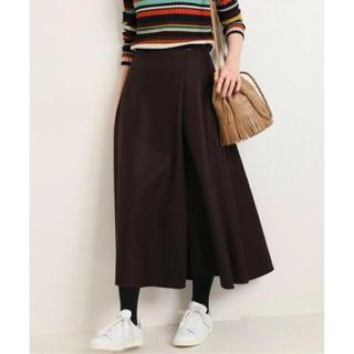 イエナ(IENA)の新品タグ付♡イエナ ハード圧縮フレアスカート(ロングスカート)