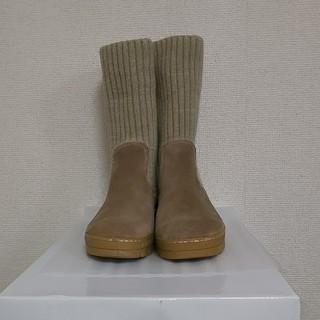アシナガオジサン(あしながおじさん)のニットブーツ 今季のブーツ(ブーツ)