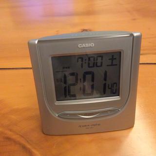 CASIO - カシオ電波目覚まし時計  DQD-230J  置時計