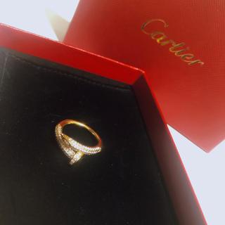 カルティエ(Cartier)の大人気✨ゴールド釘リング❤️(リング(指輪))