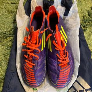 アディダス(adidas)のアディゼロF50 紫(サッカー)
