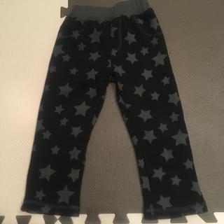 西松屋 - 西松屋 長ズボン 裏起毛 ズボン パンツ 100 しまむら ユニクロ 星柄