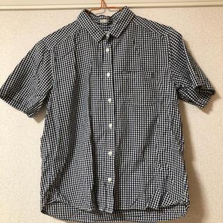 ジーユー(GU)の夏物SALE!!!GU ギンガムチェックシャツ(シャツ/ブラウス(半袖/袖なし))
