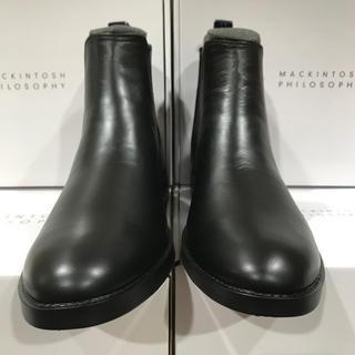 マッキントッシュフィロソフィー(MACKINTOSH PHILOSOPHY)のマッキントッシュフィロソフィー レインブーツ ブラックSS(長靴/レインシューズ)