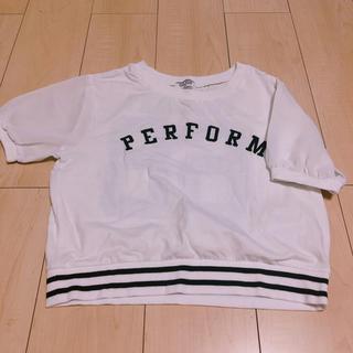 ウィゴー(WEGO)のショート丈 Tシャツ(Tシャツ(半袖/袖なし))
