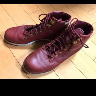 アディダス(adidas)のadidasレザーワーキングブーツ(ブーツ)