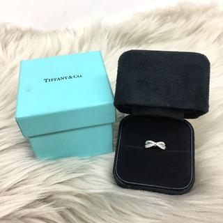 ティファニー(Tiffany & Co.)のティファニー インフィニティ ダイヤリング PT950(リング(指輪))