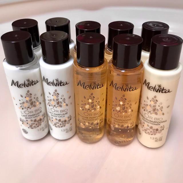 Melvita(メルヴィータ)のメルヴィータ ロルビオ 10本 シャンプー ボディーミルク シャワージェル コスメ/美容のボディケア(ボディローション/ミルク)の商品写真