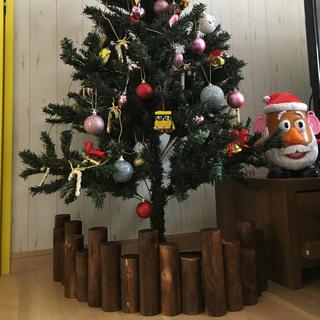 スタディオクリップ(STUDIO CLIP)のクリスマス ツリー 足隠し (インテリア雑貨)