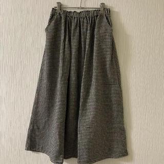 サマンサモスモス(SM2)のギャザースカート (ロングスカート)