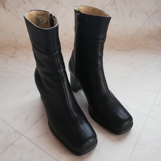 ヒミコ(卑弥呼)の卑弥呼 本革ショートブーツ 22cm (ブーツ)