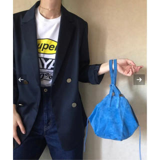 ノーブル(Noble)のch!iii bag チーバッグ NOBLE ノーブル 別注 スウェードバッグ(ハンドバッグ)