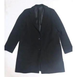 ジーナシス(JEANASIS)のジーナシス  コート ブラック 黒(チェスターコート)
