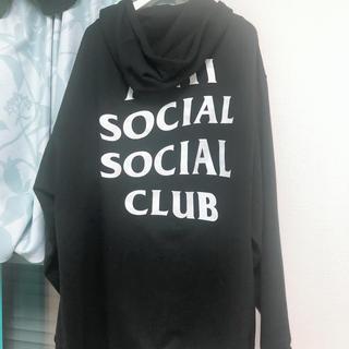 アンチ(ANTI)のanti social social club フーディ XXL 値下げ済み(パーカー)