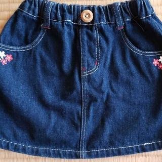 アコバ(Acoba)のスカート デニム 100(スカート)