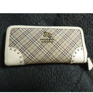 BURBERRY BLACK LABEL - バーバリー長財布