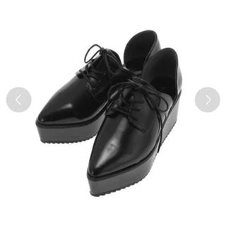 ムルーア(MURUA)のMURUA サイドカットレースアップローファー(ローファー/革靴)