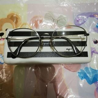 アニエスベー(agnes b.)のアニエスベー 箱付き メガネ 新品(サングラス/メガネ)