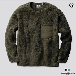 ユニクロ(UNIQLO)のUNIQLO Engineered Garment フリースプルオーバー(スウェット)