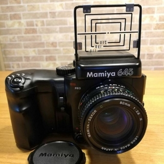 マミヤ(USTMamiya)のMAMIYA 645PRO SEKOR C 80/2.8 N ウェスト(フィルムカメラ)
