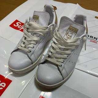 アディダス(adidas)のアディダス  スタンスミス ホワイト ゴールド スネーク サイズ 26.0cm (スニーカー)