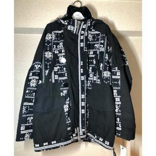 サカイ(sacai)のsacai 19aw 刺繍マウンテンパーカー 希少サイズ1 人気(ブルゾン)