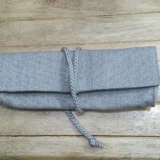 ムジルシリョウヒン(MUJI (無印良品))の新品 未使用 無印 廃盤 帆布 ロールペンケース(ペンケース/筆箱)