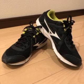 MIZUNO - 【中古品】MIZUNO スポーツシューズ ブラック 24.0cm