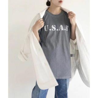プラージュ(Plage)のplage 古着加工ロゴTシャツ アパルトモン(Tシャツ(半袖/袖なし))
