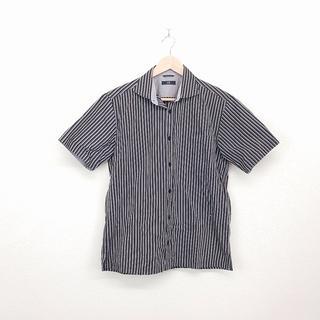 ニジュウサンク(23区)の美品 ニジュウサンク 23区 メンズ シャツ 半袖 46 グレー(シャツ)