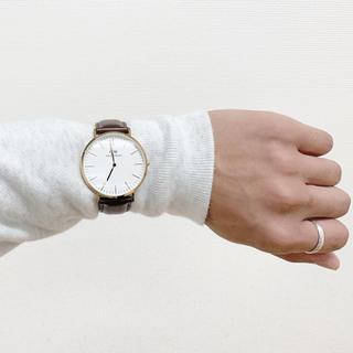 ダニエルウェリントン(Daniel Wellington)の【tebukurosan様専用】danielwellington ブラウンレザー(腕時計(アナログ))