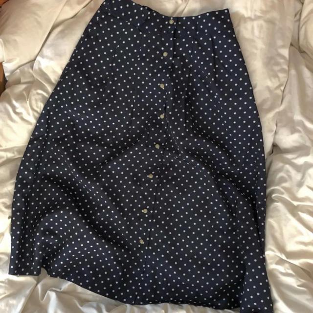 アメリカンホリック レトロドットスカート レディースのスカート(ひざ丈スカート)の商品写真
