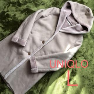 UNIQLO - 美品☆UNIQLO  ムートンタッチ コート L