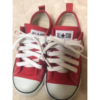CONVERSE - コンバース★靴★18cm★赤★送料無料