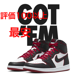 ナイキ(NIKE)のNIKEAir Jordan 1 High Bloodline 28cm(スニーカー)