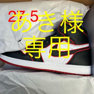 ナイキ(NIKE)のnike air jordan 1 blood line gym red(スニーカー)