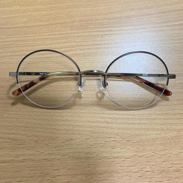 Zoff(ゾフ)のZoff 丸メガネ レディースのファッション小物(サングラス/メガネ)の商品写真