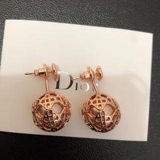 ディオール(Dior)のDior ピアス Pink(ピアス(両耳用))