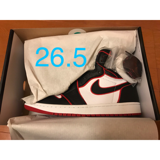 ナイキ(NIKE)のAIR JORDAN 1 RETRO HIGH OG 26.5cm(スニーカー)